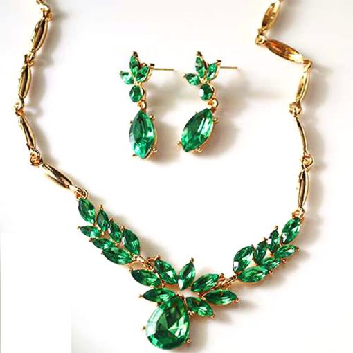 Green Necklace for Women
