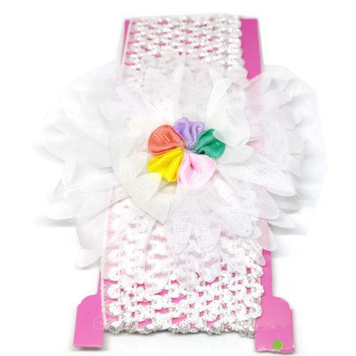 Trendilook Elastic Flower Pearl Party Wear Hairband