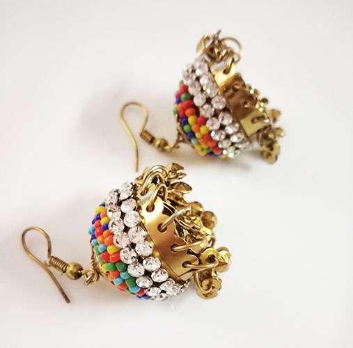 Multicolor Beads Earring for Women
