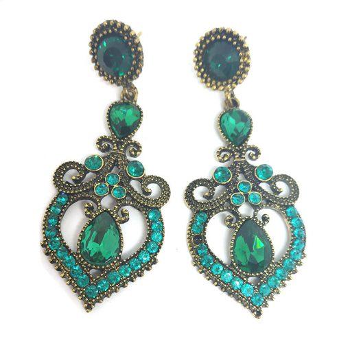 Trendilook German Gold Stone Earring for Ladies