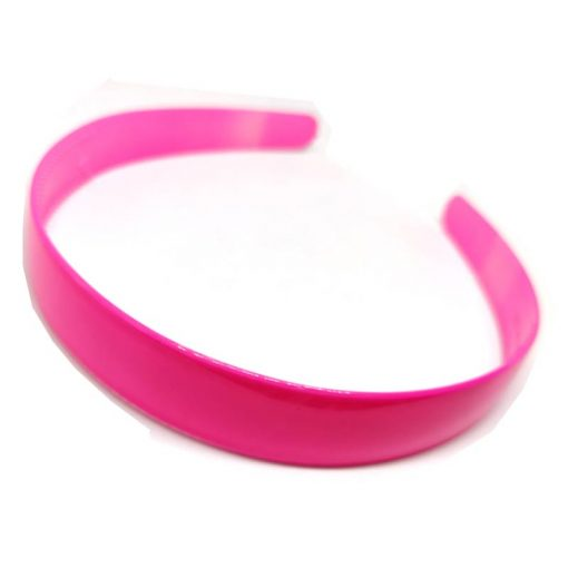 Trendilook Pink Unbreakable Big Size Single Color Hairband