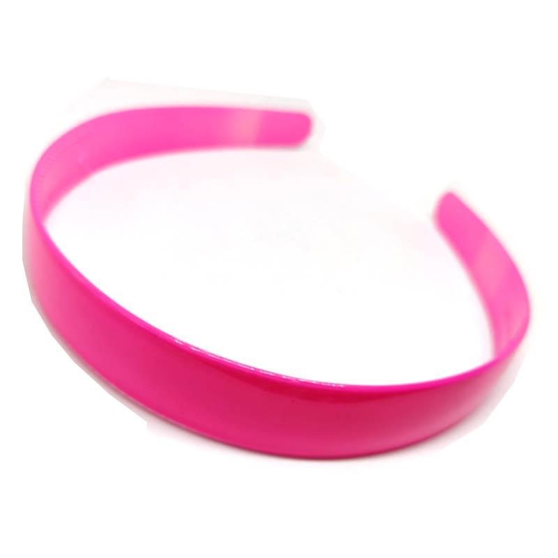 Trendilook Pink Unbreakable Big Size Single Color Hairband