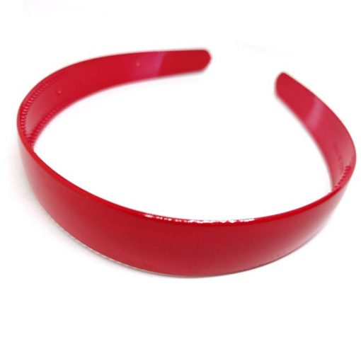 Trendilook Red Unbreakable Big Size Single Color Hairband