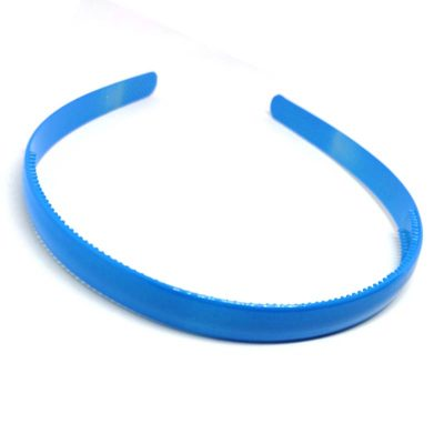 Trendilook Blue Plain Small Unbreakable Hairband