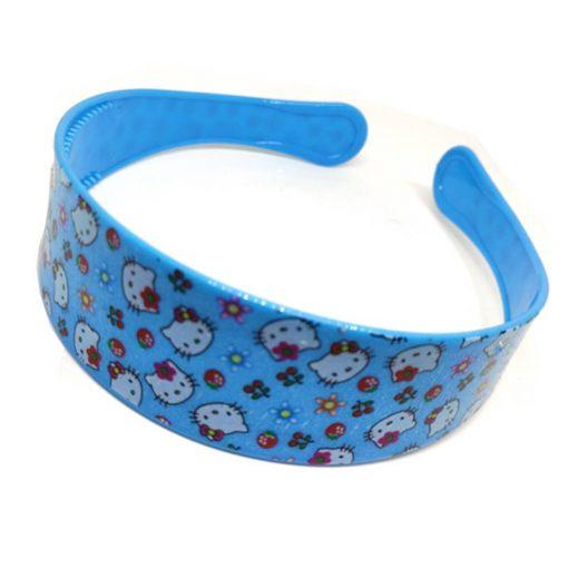 Trendilook Blue Hello Kitty Hairbands for Kids