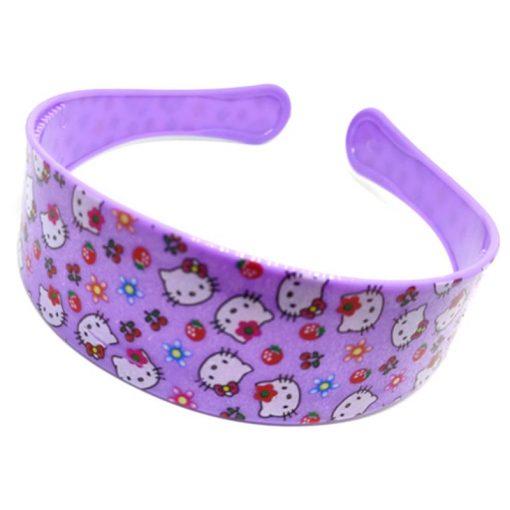 Trendilook Purple Hello Kitty Hairbands for Kids