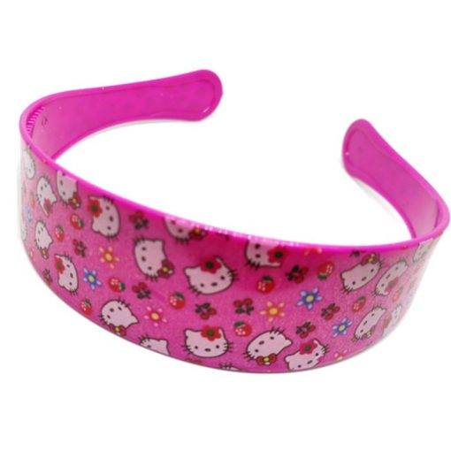 Trendilook Pink Hello Kitty Hairbands for Kids