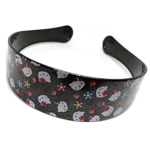 Trendilook Black Hello Kitty Hairbands for Kids