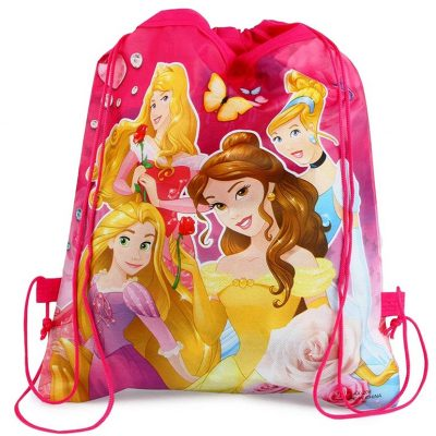 Trendilook Princess Theme Dori / Haversack Bag set of 12 for Kids Birthday Return Gift