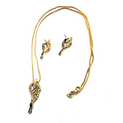 Trendilook Gold Plated Necklace Set for Girls