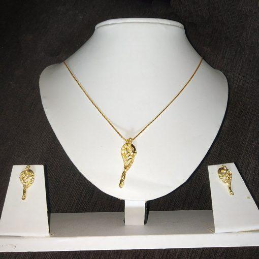 Trendilook Gold Plated Necklace Set for Girls