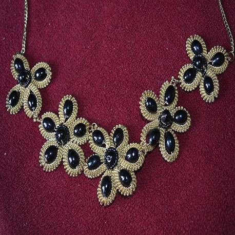 Black Golden Necklace