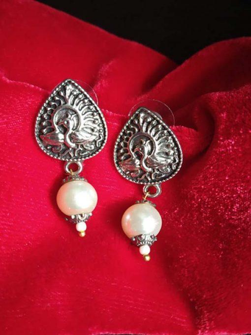 Trendilook Cute German Silver Drop Earring