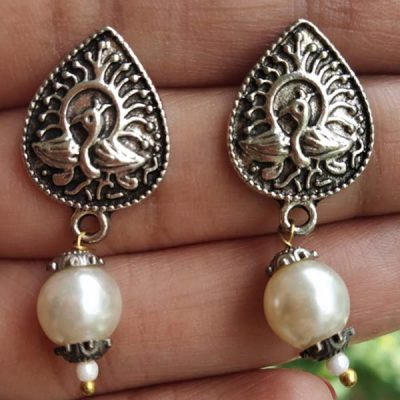 Trendilook Cute German Silver Drop Earring
