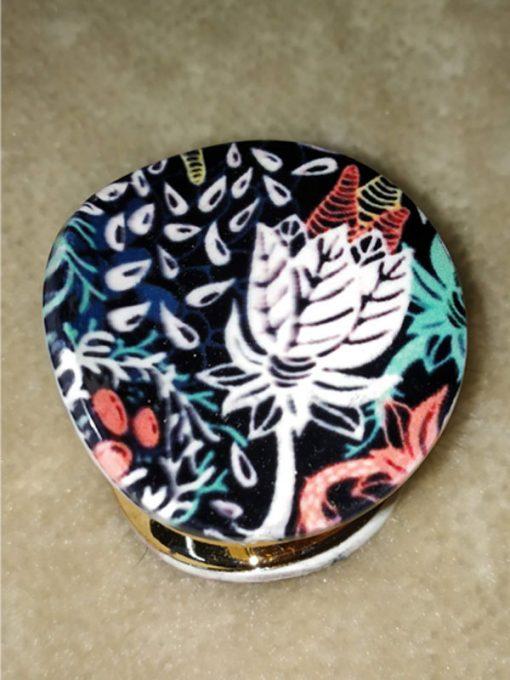 Trendilook Beautiful Printed Circle Clutch