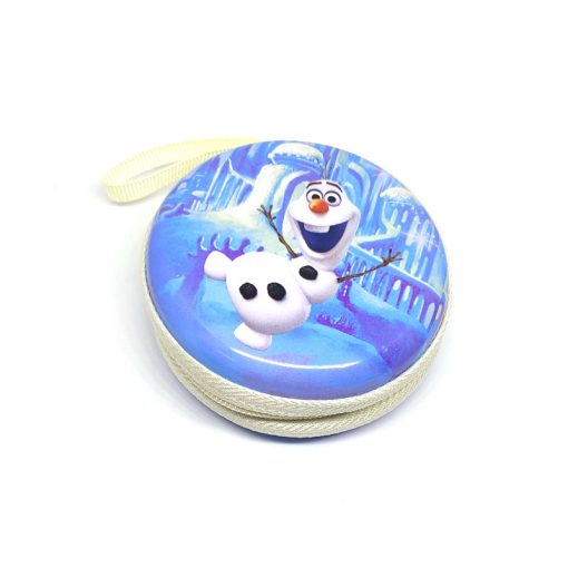 Frozen Theme3 Coin Tin Purse with zipper for kids