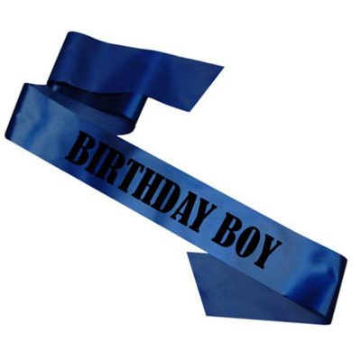 Trendilook Party Birthday Sash for your Prince