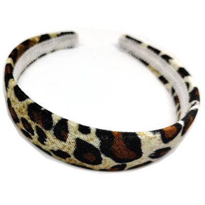 Trendilook Broad Leopard Print Hairbands 01