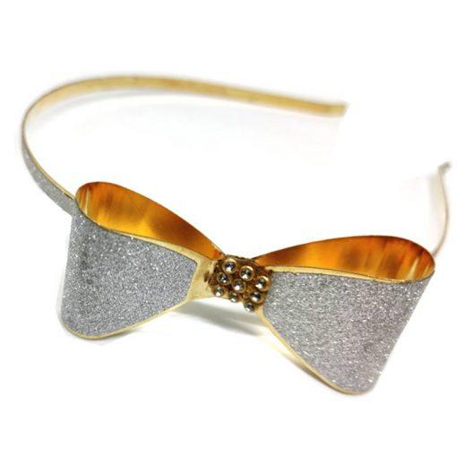 Trendilook Stylish Silver Cross Hairband For Kids 01