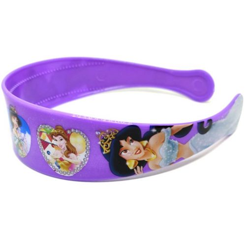 Trendilook Purple Princess Heart Theme Hairband for Cute Princess