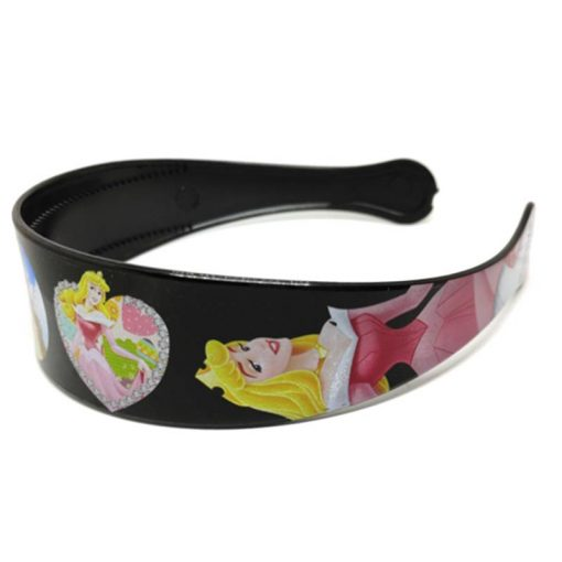 Trendilook Black Princess Heart Theme Hairband for Cute Princess