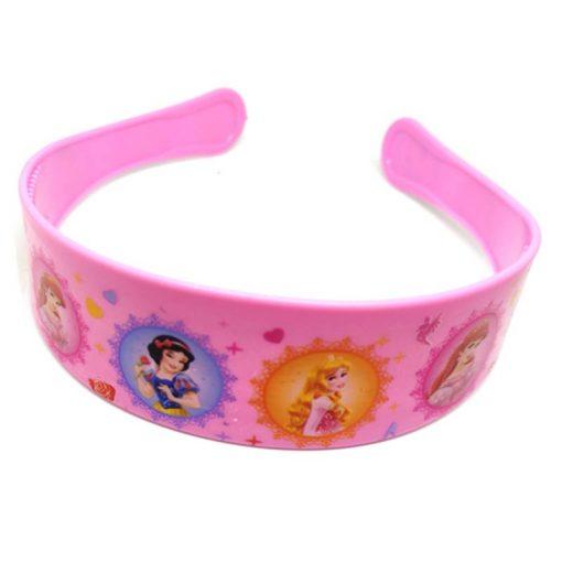 Trendilook Baby Pink Princess Circle Theme Hairband for Cute Princess