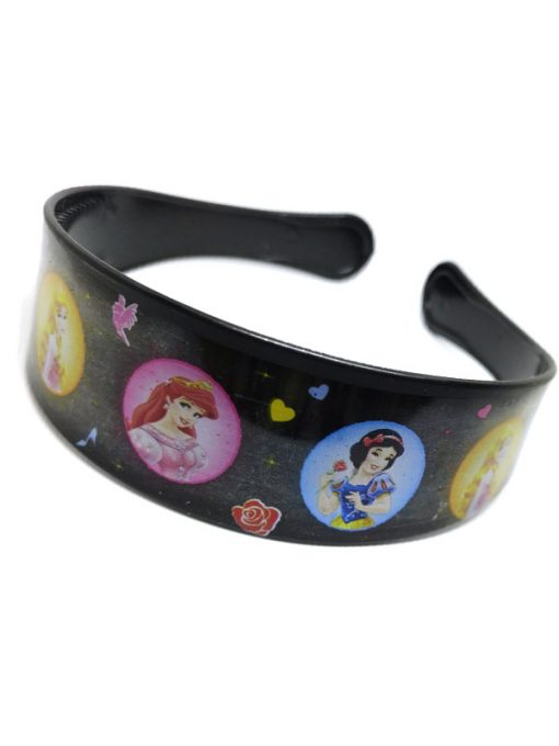 Trendilook Black Princess Circle Theme Hairband for Cute Princess