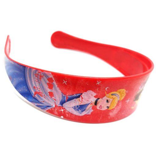 Trendilook Red Princess Full Cartoon Theme Hairband for Cute Princess