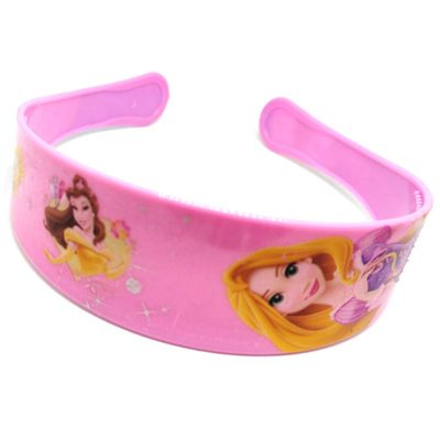 Trendilook Baby Pink Princess Full Cartoon Theme Hairband for Cute Princess