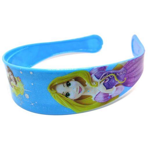 Trendilook Blue Princess Full Cartoon Theme Hairband for Cute Princess
