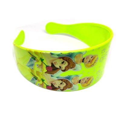 Trendilook Yellow Princess Theme Broad Hairband for Cute Princess