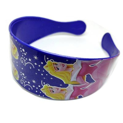 Trendilook Blue Princess Theme Broad Hairband for Cute Princess