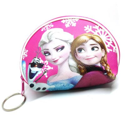 Trendilook Frozen Coin Purse Mini PU Key Chain Small Purse / Pouch - Theme1