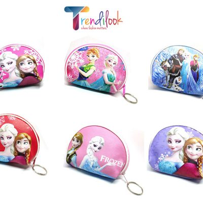 Trendilook Frozen Coin Purse Mini PU Key Chain Small Purse / Pouch - All