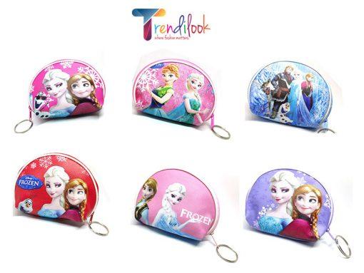 Trendilook Frozen Coin Purse Mini PU Key Chain Small Purse / Pouch - All