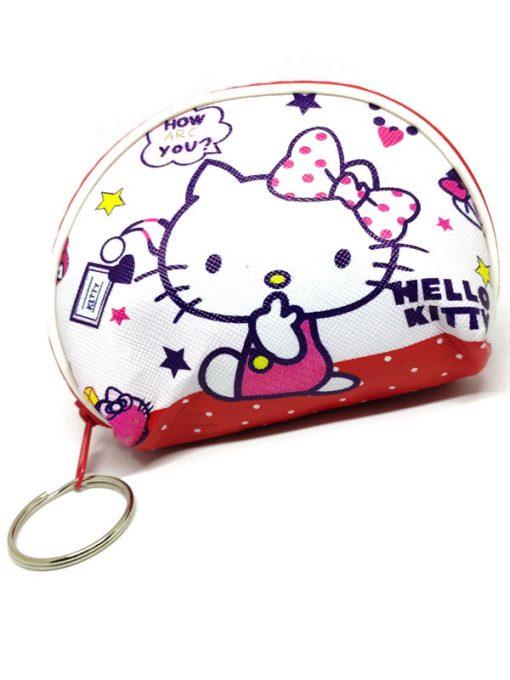 Trendilook Hello Kitty Coin Purse Mini PU Key Chain Small Purse / Pouch - Theme1