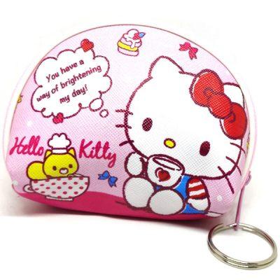 Trendilook Hello Kitty Coin Purse Mini PU Key Chain Small Purse / Pouch - Theme6