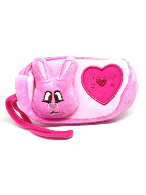 Trendilook Beautiful Soft Animal Face Pencil Purse / Pouch For Kids - Theme1