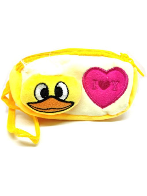 Trendilook Beautiful Soft Animal Face Pencil Purse / Pouch For Kids - Theme4