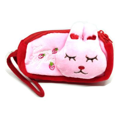 Trendilook Beautiful Soft Animal Face Pencil Purse / Pouch For Kids - Theme5