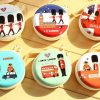 London_Theme Coin Tin Purse with zipper for kids