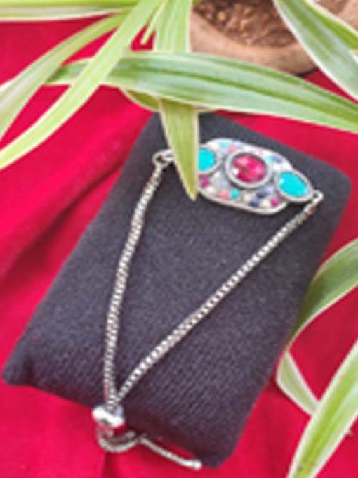 Trendilook Silver Adjustable Bracelet
