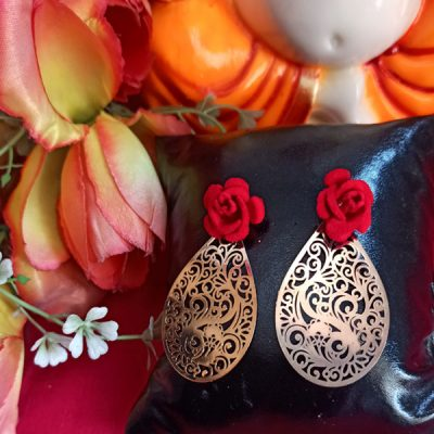 Trendilook Two In One Beautiful Stud and Drop Earring