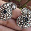 Trendilook German Silver Stud Earring