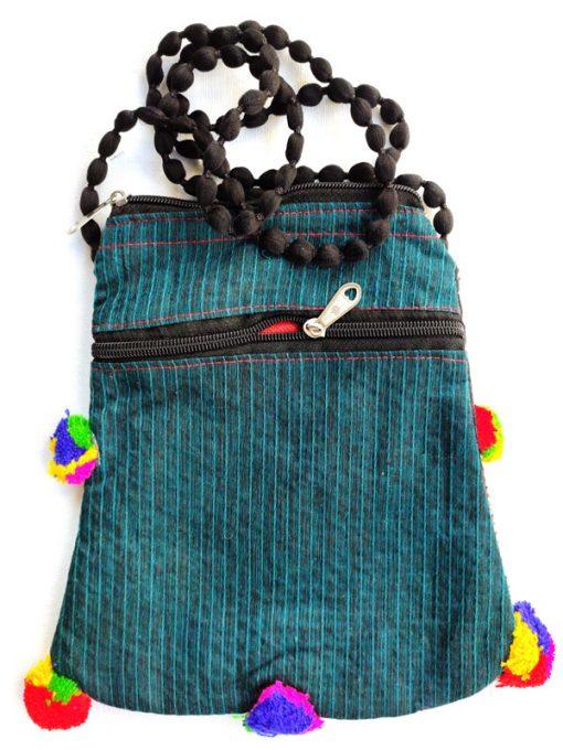 Trendilook Handmade Resham Work Sling Bag for Ladies and Girls