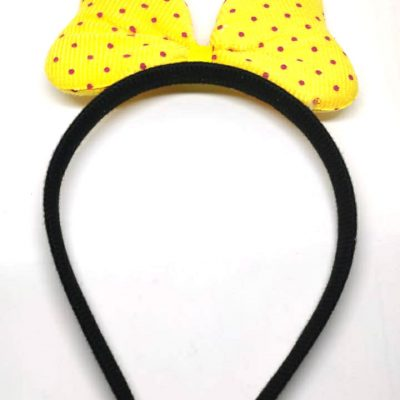 Trendilook Bunny Black Base Fur Hairband