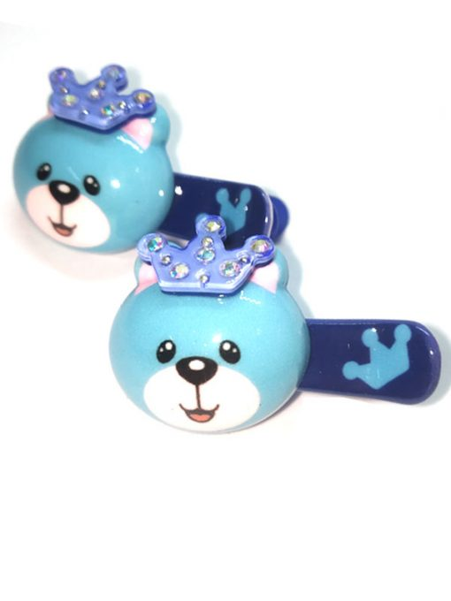Trendilook Bear Stone Work Clips for Kids