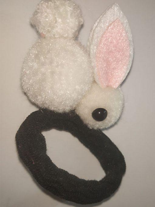 Trendilook Premium Quality Bunny Fur Rubberband