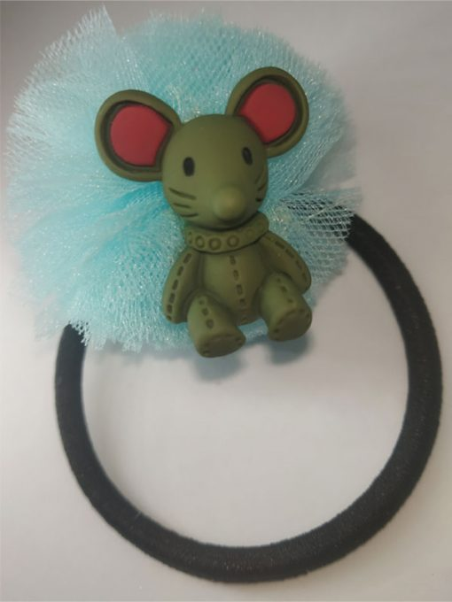 Trendilook Net with Mouse cute Rubberband for Girls