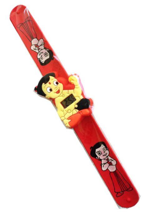 Trendilook Chota Bheem Silicone Slap Band Digital Watch for Kids